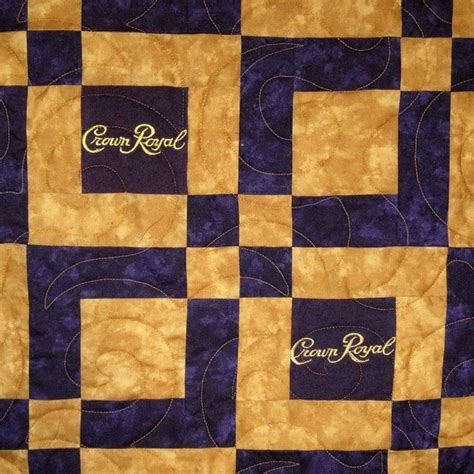 crown royal quilt bed scarf crown royal quilt bed scarf lap sized crown royal quilt made from your bags
