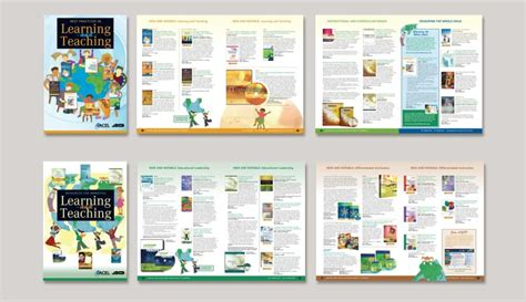 book layout online book catalog design and layout for ascd publications
