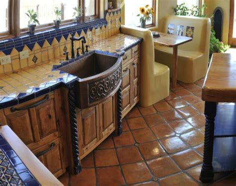 17 best images about mexican kitchens home decor on mexican kitchen fantastic copper farm style ornate sink