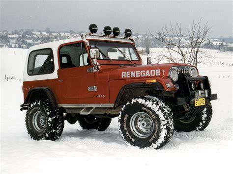 Browns Jeep 112 Cj7 Renegade Burnt White Hardtop Jeep