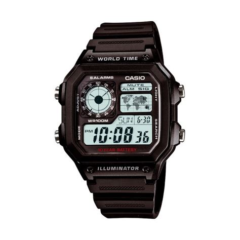Casio Ae 1200wh 1avdf montre casio collection ae 1200wh 1avef pour homme