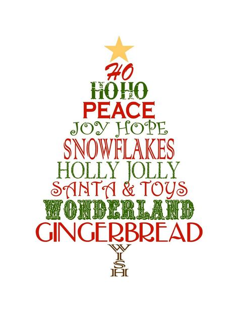 printable christmas tree clipart clipart suggest