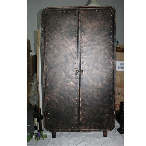 Wrought Iron Cabinet Doors American Style Of Original Sliding Door Storage Cabinet With Wrought Iron Classic Retro