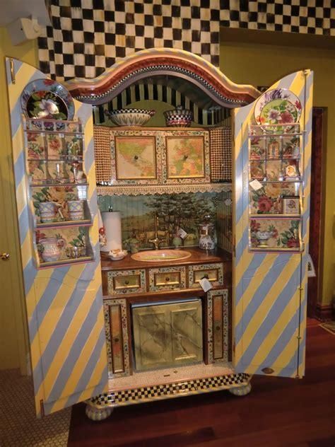 mackenzie childs kitchen ideas mackenzie childs complete armoire kitchen possible diy