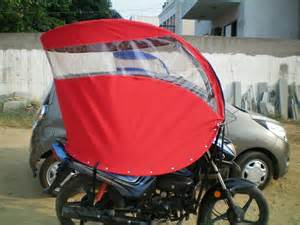 Bicycle Rain Canopy by Roof For Two