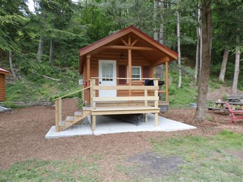 Roscoe Cabins by Cabin Rentals Roscoe Csite Park