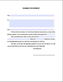 Demand Letter Notice Of Default Demand Notice For Payment Free Fillable Pdf Forms