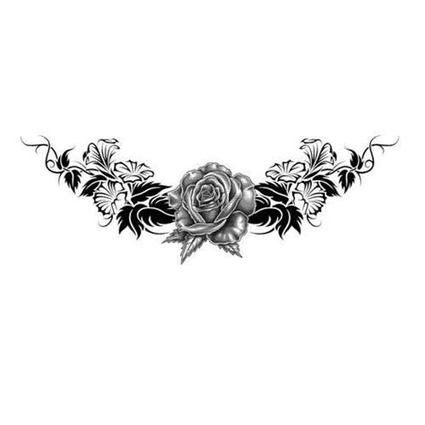rose tattoo lower back 25 best tattoos lower back images on