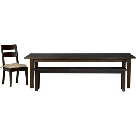 dining table furniture basque crate and barrel dining table