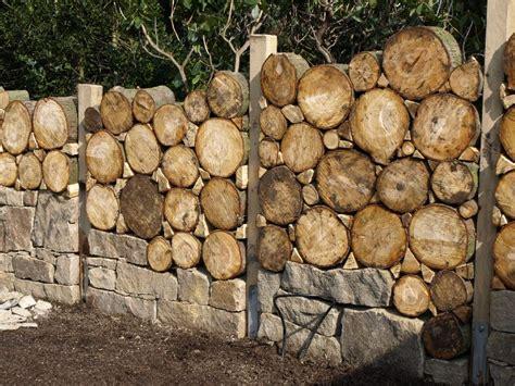 sichtschutzwand garten stein vivaverde co