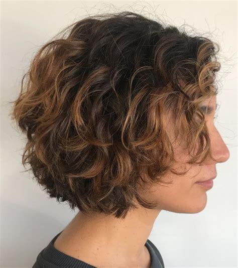 delightful short wavy hairstyles hair styles