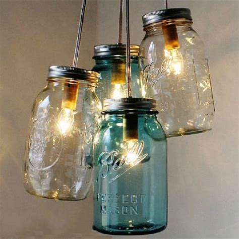 bottle ceiling light when lighting complements
