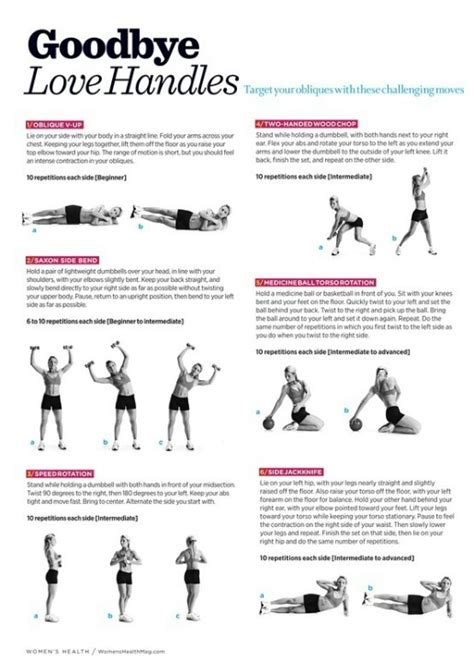 16 best images about oblique exercise on