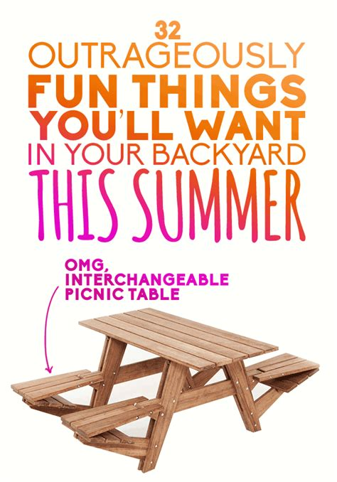 fun things to do in the backyard 32 outrageously fun things you ll want in your backyard