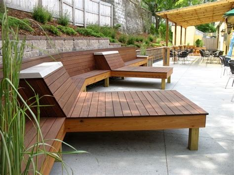 Awesome White Grey Wood Modern Design Garden Furniture Designer Patio Furniture