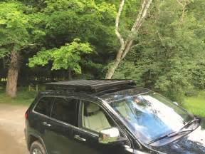 slimline ii roof rack foot rail jeep grand