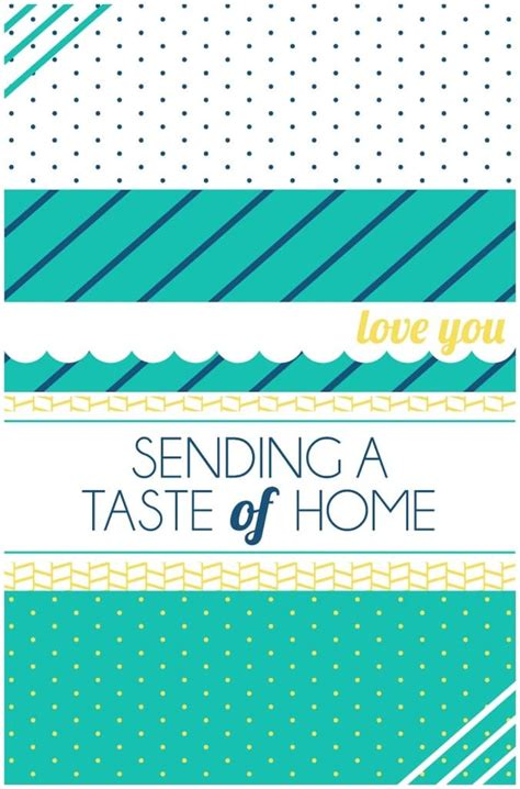 taste of home care package printable hometome your