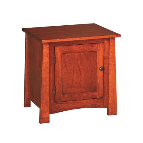 End Table Cabinet by Craftsmen Cabinet End Table Country Furniture
