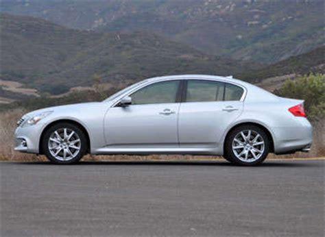 infiniti  sedan road test  review autobytelcom