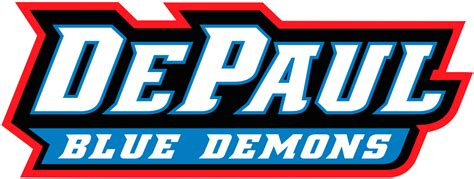 Depaul Search File Depaul Blue Demons Script Logo Png Wikimedia Commons