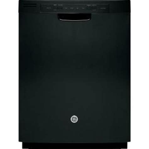 ge front control dishwasher in black gdf510pgdbb the
