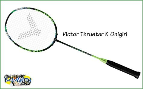 Raket Victor Thruster Onigiri badminton racket written reviews archives page 2 of 10