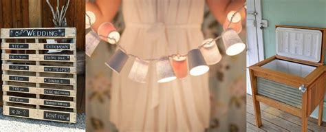 The Best Recycled Wedding Decor DIY's   Rustic Wedding Chic