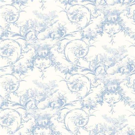 wallpaper toile blue blue lamby toile wallpaper