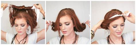 desingn by rolling some hair 15 lazy girls hairstyle tips and tricks that can be done