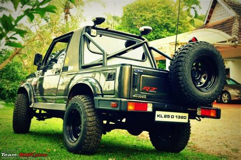 modified gypsy in kerala 5 tastefully modified maruti suzuki gypsy suvs part ii