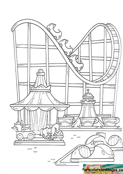 free coloring pages of water water park
