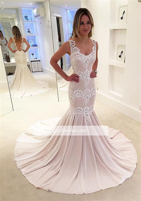 Brautmode Designer by Designer Hochzeitskleider Standesamt Spitze Meerjungfrau