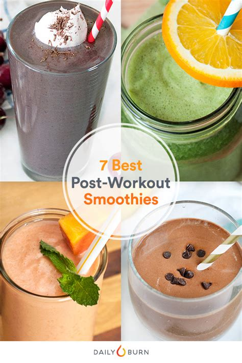 healthy fats post workout the 7 best post workout smoothies for every exercise