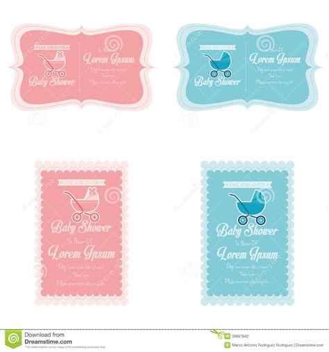 baby shower place card template free baby shower place cards template 28 images invitation