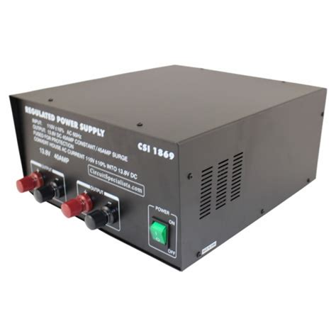 12 volt bench power supply 13 8v 40 amp dc regulated linear bench power supply
