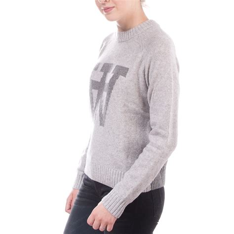 Sweater Vans Nevy Grey Sweater Vans Premium Limited wood wood prospect sweater light grey 11531003 4034