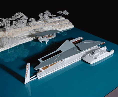 design concept for ferry terminal west end ferry terminal by cox rayner architects