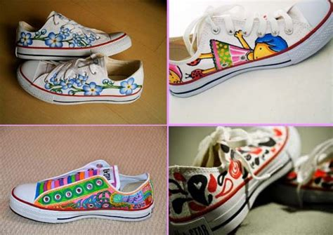 decorar zapatillas con glitter 4 ideas para customizar tus zapatillas converse