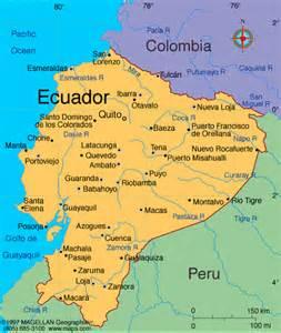 south america ecuador map ethos trip 2008