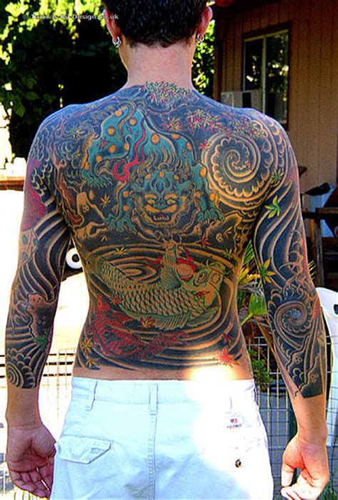 tattoo japanese suit japanese body suit back tattoo