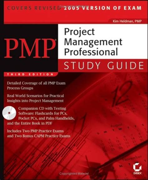 pmp project management professional review guide books pmp project management professional study guide by