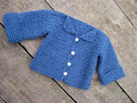 pattern cardigan baby crochet crochet baby sweater free pattern