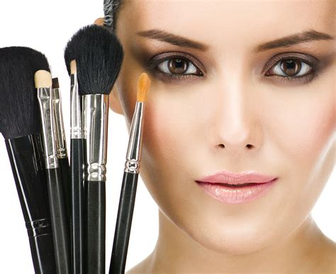 using makeup 187 professional makeup brushes
