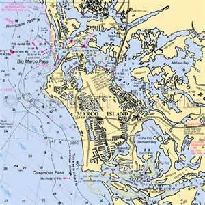 florida marco island nautical chart decor decor