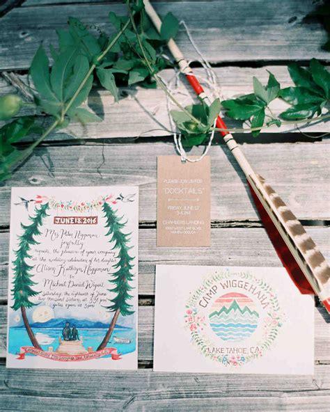 a summer c inspired wedding by lake tahoe martha stewart weddings
