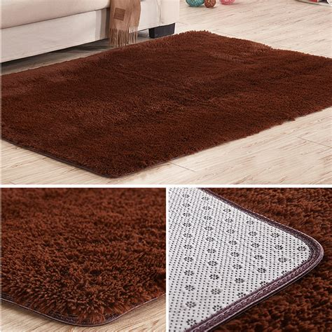 bathroom rugs non slip soft tufted microfiber bathroom home mat rug non slip back