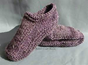 knitted slipper pattern knitted slippers billie s craft room