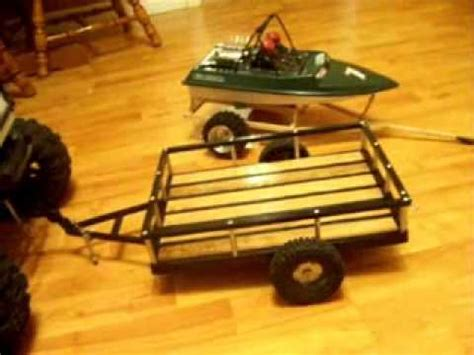 rc boat trailer video rc trailer and nqd jet boat trailer youtube