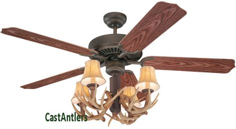 antler chandelier ceiling fan outdoor lighting 42 quot antler indoor outdoor ceiling fan
