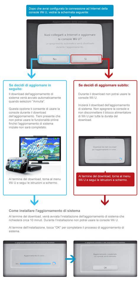 aggiornamento console wii importanti informazioni sugli aggiornamenti di sistema